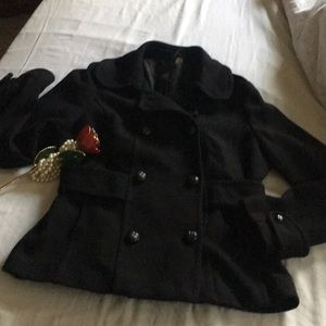Black beautiful blazer/coat
